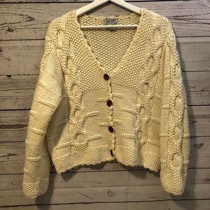 Skyr knitted cardigan